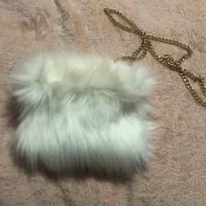 Missguided Faux Fur Crossbody